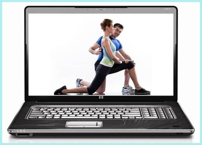 Ponte en forma con tu entrenador personal en internet