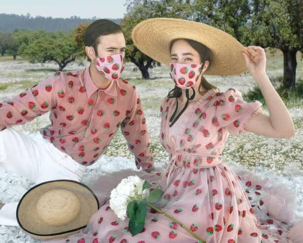El estampado de fresas se pone de moda