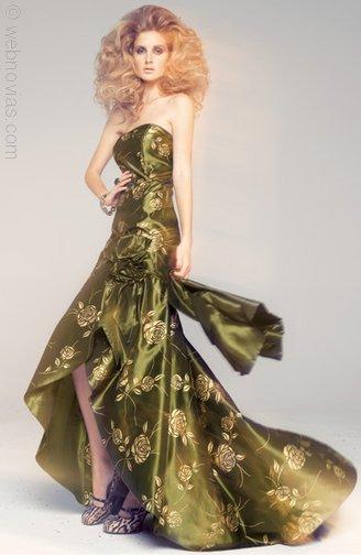 Tendencias vestidos invitadas a una boda 2011-2012