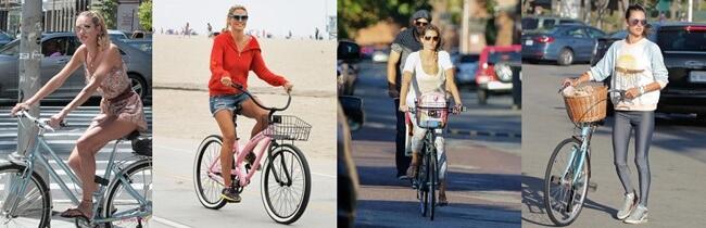 Bicicleta, el nuevo complemento de moda