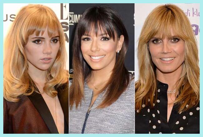 Peinados con flequillo según tu tipo de rostro