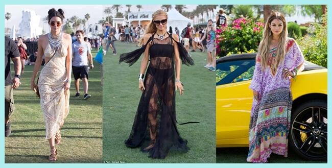 Las celebrities eligen los vestidos largos