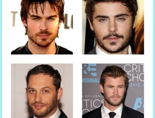 famosos con barba