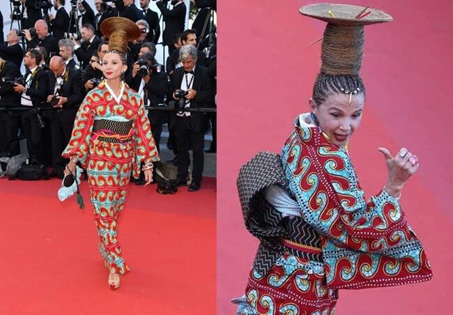 Peores Peinados Festival de Cannes 2017