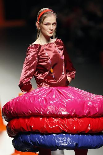 Agatha Ruiz de la Prada en la Cibeles Fashion Week