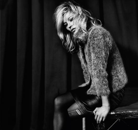 Imágenes de Kate Moss y Top Shop