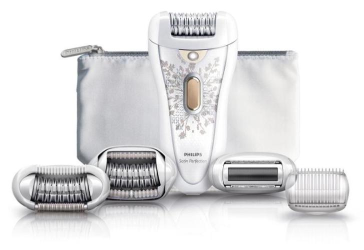 Philips lanza una nueva línea de depiladoras