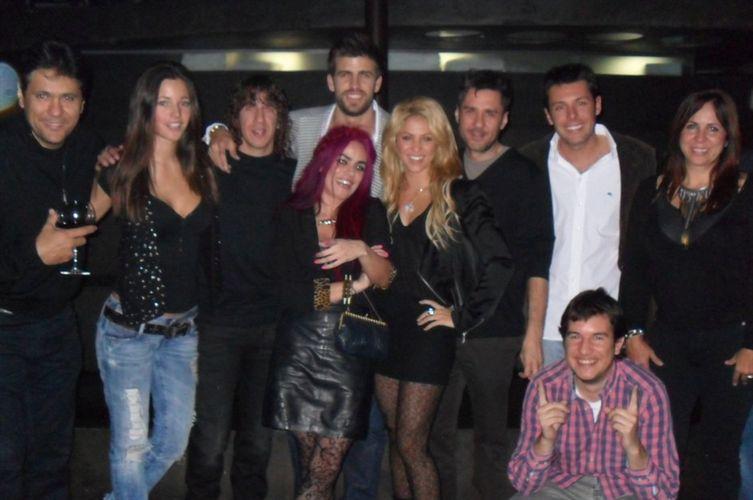 Gerard Piqué celebra su cumpleaños con Shakira