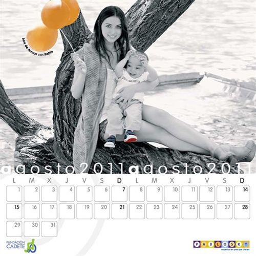 Calendario solidario de Pablosky