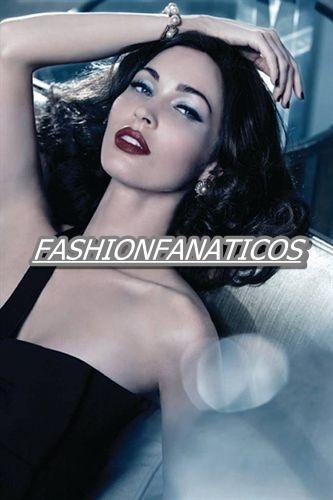 Megan Fox posa como una diva de los años 50 para Giorgio Armani