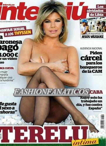 Terelu Campos posa de lo más sensual para Interviú
