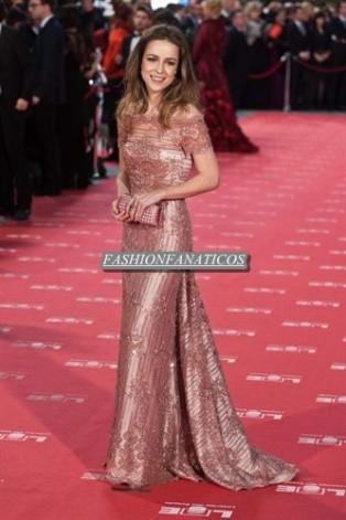 Silvia Abascal reaparece en la Gala de los Goya más bella y emocionada que nunca