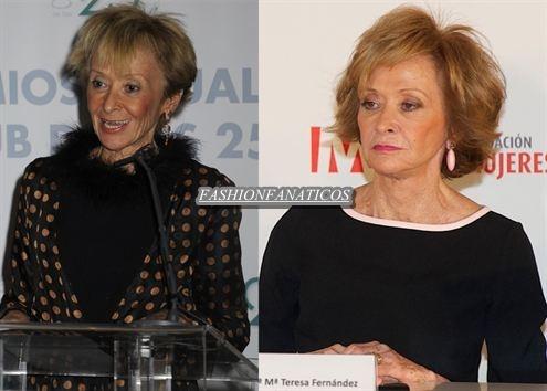 María Teresa Fernández de la Vega¿cirugía estética o magia?