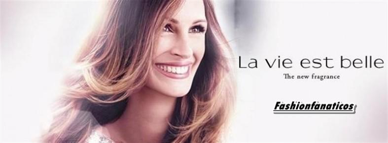 Julia Roberts imagen de la nueva fragancia de Lancome: 'La vie est belle'