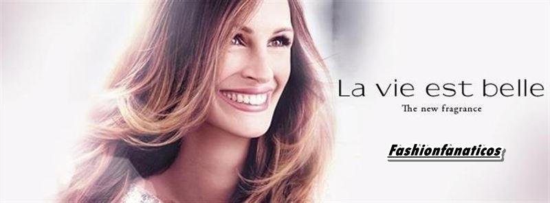 Julia Roberts imagen de la nueva fragancia de Lancôme: 'La vie est belle'