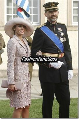 La Princesa de asturias derrocha elegancia en la boda de Guillermo de Luxemburgo