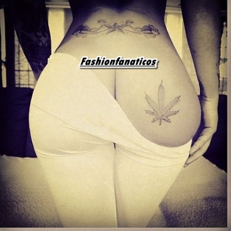 Rihanna muestra su nuevo tatuaje