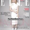 Scarlett Johanson empieza el año en la portada de la revista Elle