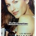 Gisele Bündchen imagen de Chanel Beauty