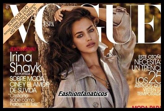 Irina Shayk portada de Noviembre de Vogue