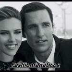 Scarlett Johansson y Mathew McCounaghey protagonistas del nuevo spot de Dolce&Gabbana