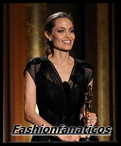 Angelina Jolie recibe el Oscar Honorífico