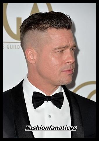 Brad Pitt luce nuevo corte de pelo