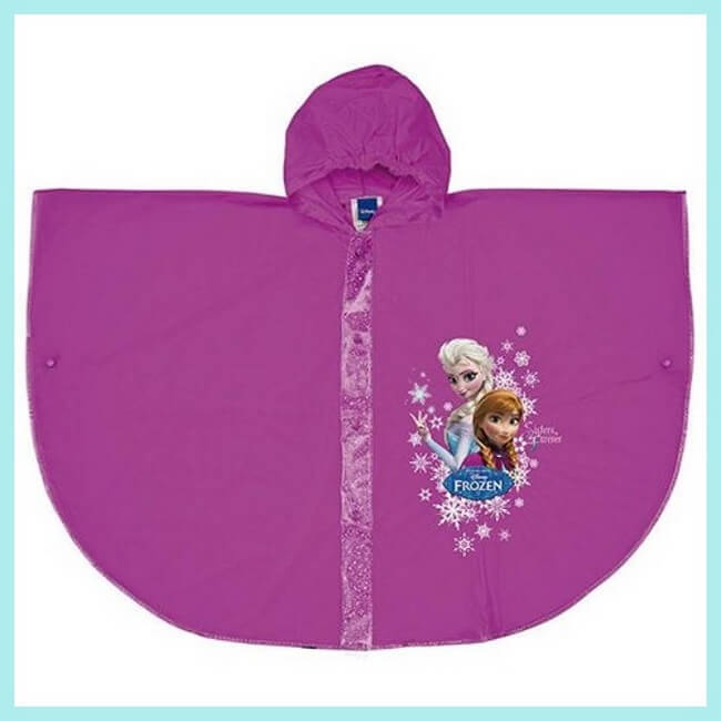 impermeable de frozen