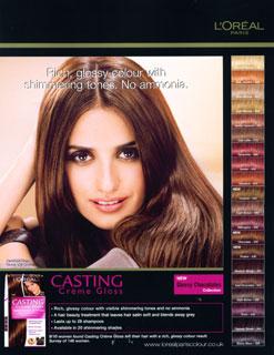 ¿Quieres ser la nueva imagen de Casting Crème Gloss de L'Oreal?