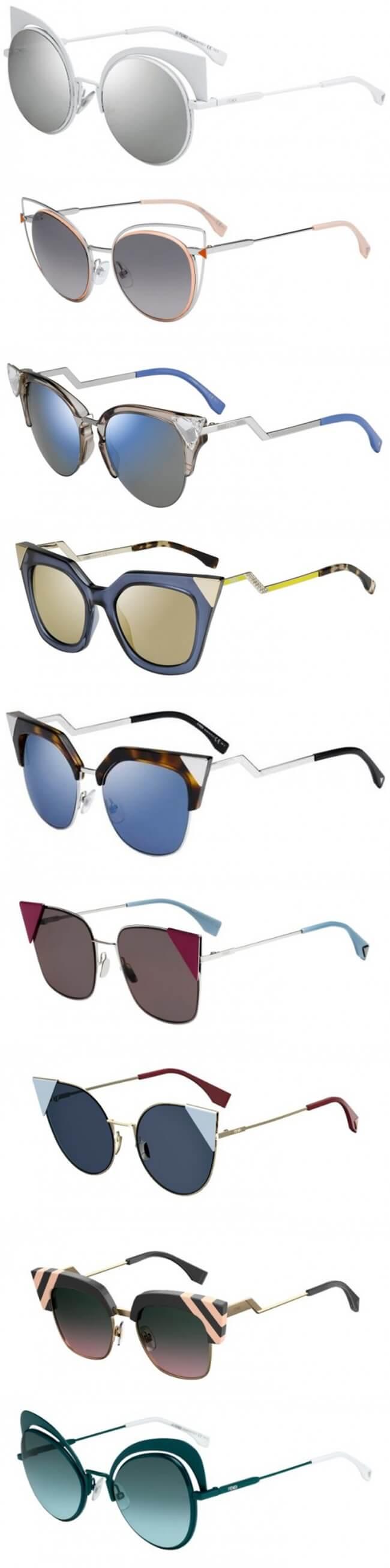 Fendi presenta su nueva colección de gafas