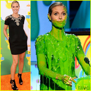 Alfombra naranja en los Kid's Choice Awards