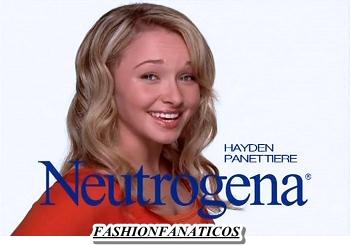 Hayden Panettiere nueva imagen de Neutrogena