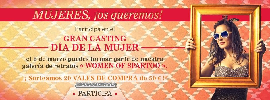 Spartoo quiere celebrar el Día de la Mujer con todas nosotras!!