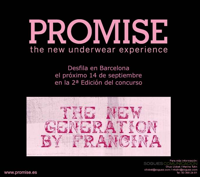 PROMISE en The New Generation by Francina