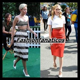 Las faldas, grandes triunfadoras del 2014