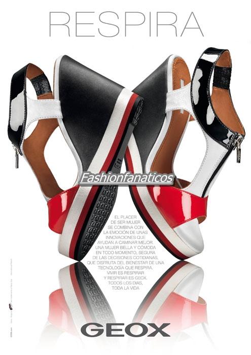 Geox triunfa con su nueva colección de mujer Primavera-verano 2012