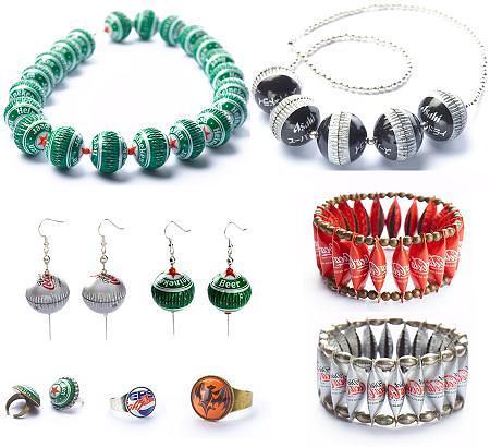 Joyas con materiales reciclados de Kotik Design