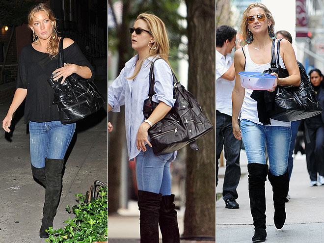 Las celebrities ya llevan las botas corsario