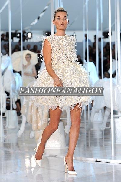 Kate Moss triunfa en París