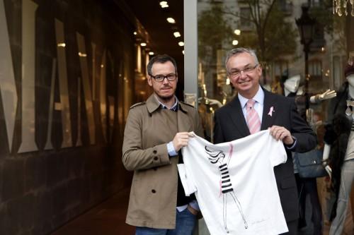 Mango y Jordi Labanda, solidarios
