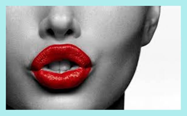 En Invierno labios rojos!!!