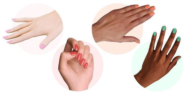 A cada tipo de piel su laca de uñas