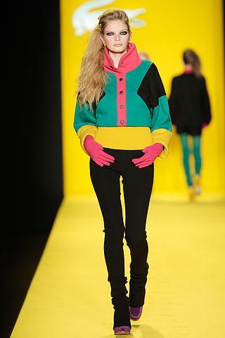 Lacoste otoño/invierno 2010 en la Semana de la Moda de Nueva York