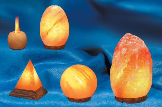 La lámpara de sal y sus propiedades