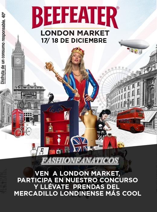 Ya está aquí el Madrid Beefeater London Market