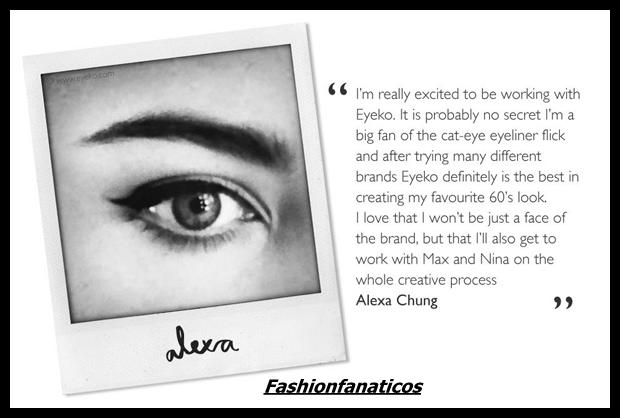 Alexa Chung presenta su primera línea de maquillaje