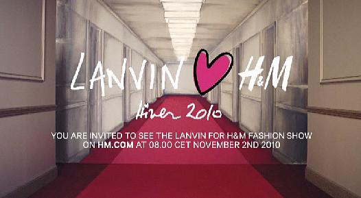 Lanvin colabora con H&M