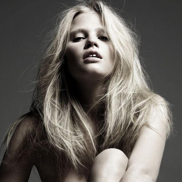Lara Stone, la musa perfecta para Calvin Klein