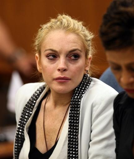 Lindsay Lohan en la ruina