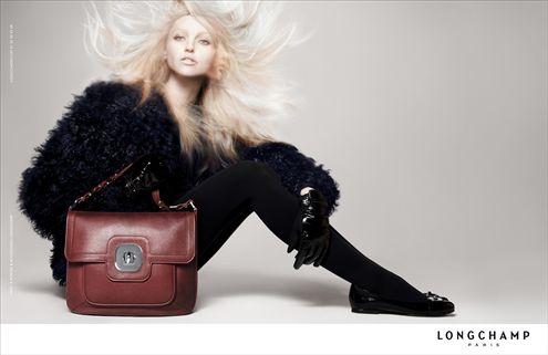 Sasha Pivovarova vuelve a vestir de Longchamp